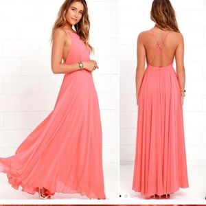 Lulu's Mythical Kind of Love Maxi Dress size M